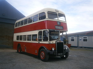 Leyland  pd2 d,decker ,  ex stockport corporation