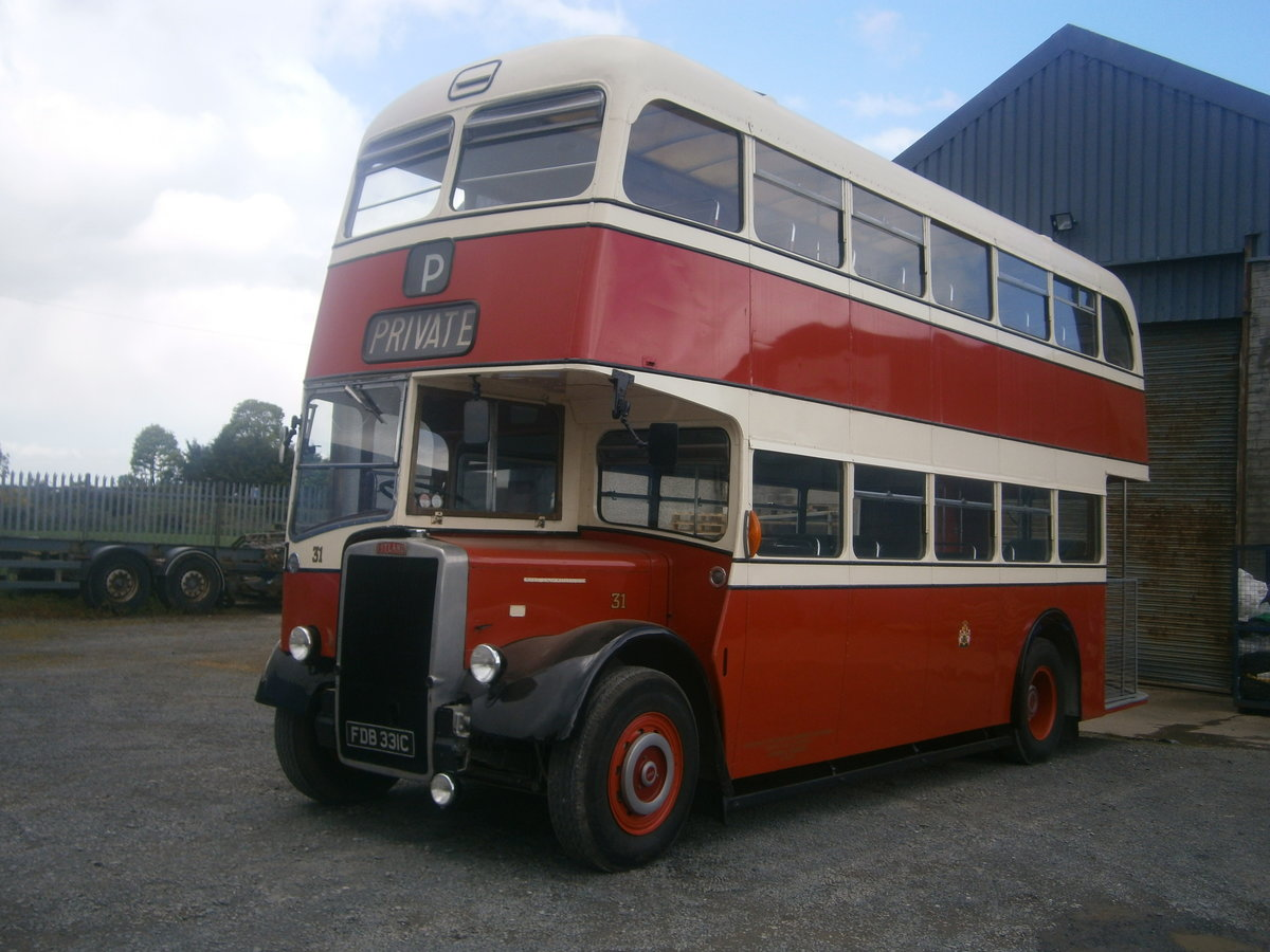 1965 Leyland  pd2 d,decker ,  ex stockport corporation For Sale (picture 2 of 6)