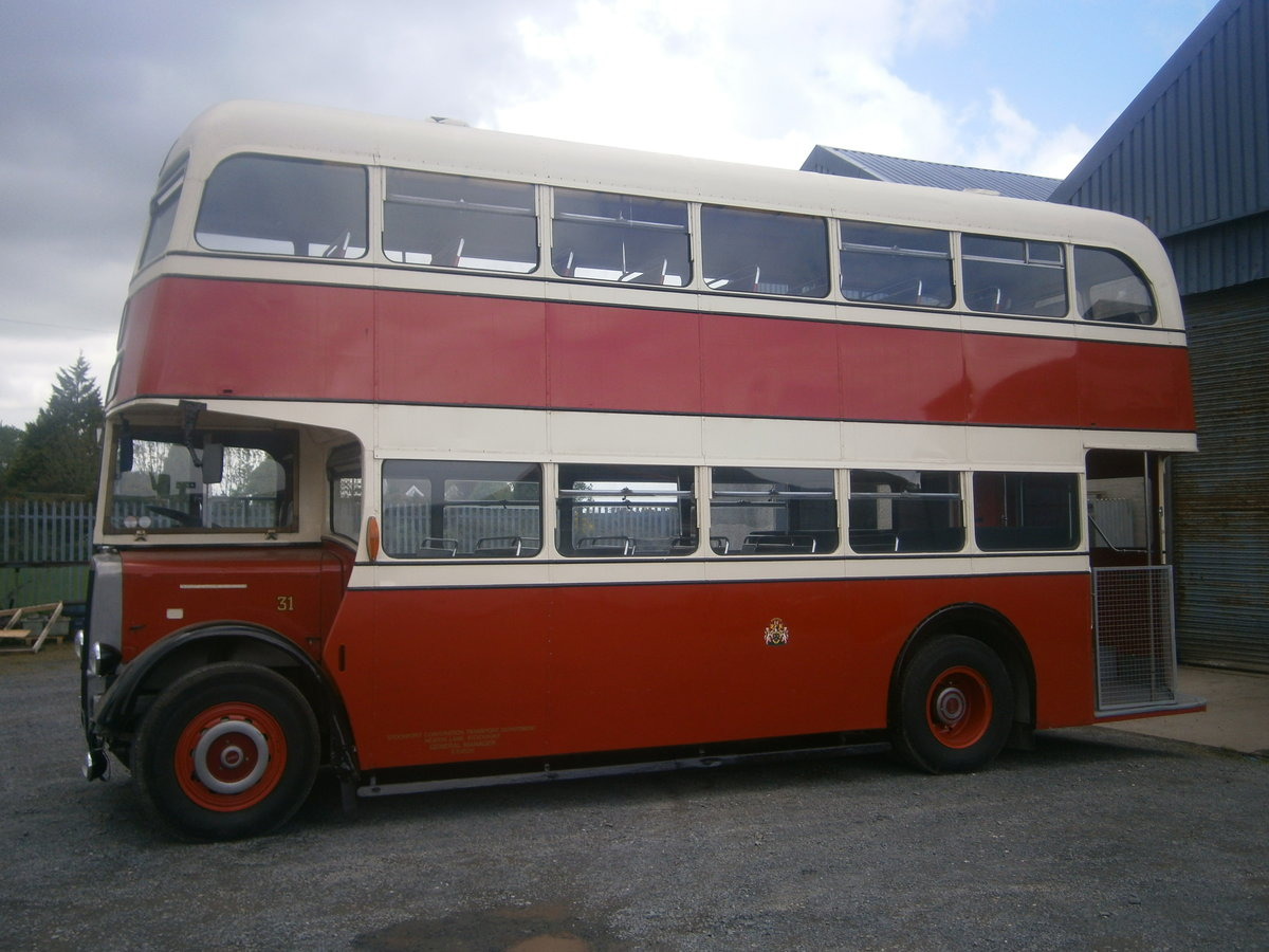 1965 Leyland  pd2 d,decker ,  ex stockport corporation For Sale (picture 3 of 6)