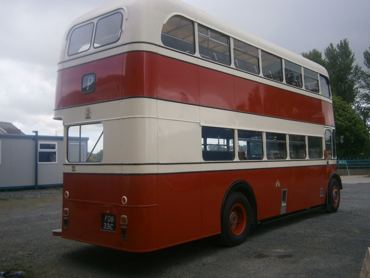 1965 Leyland  pd2 d,decker ,  ex stockport corporation For Sale (picture 5 of 6)