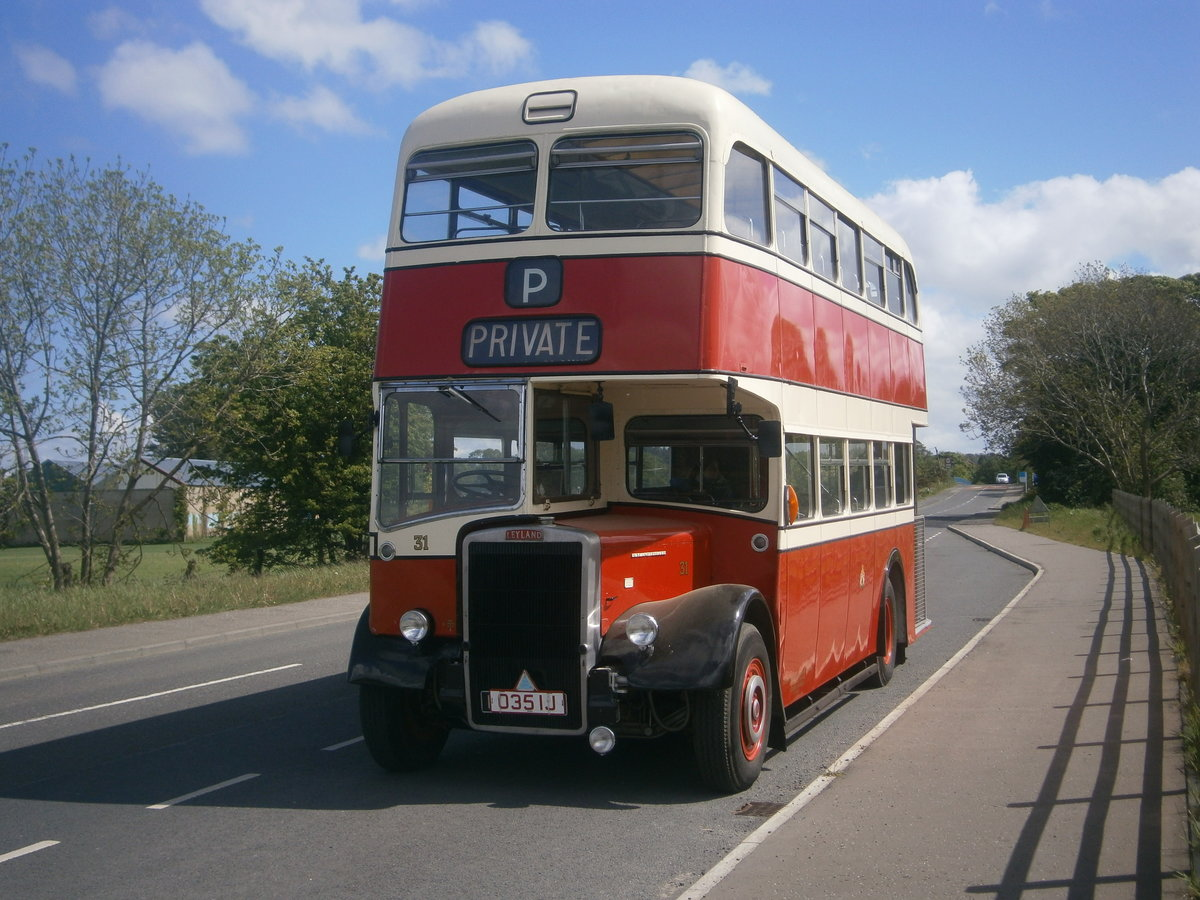 1965 Leyland  pd2 d,decker ,  ex stockport corporation For Sale (picture 6 of 6)