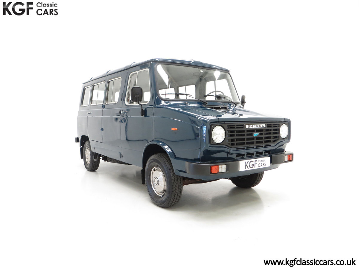 1982 A Delivery Mileage Morris Leyland Sherpa 250 Minibus SOLD (picture 1 of 24)