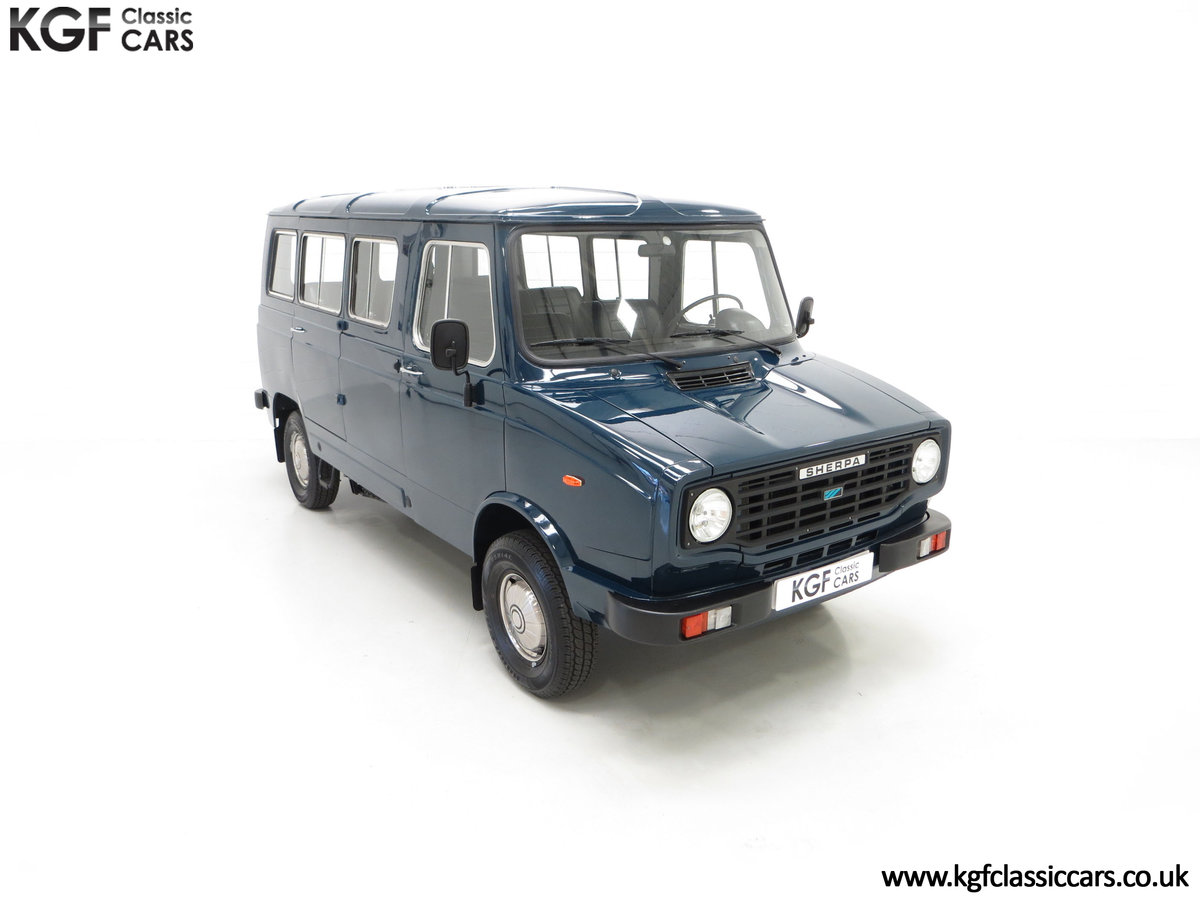 1982 A Delivery Mileage Morris Leyland Sherpa 250 Minibus SOLD (picture 2 of 24)