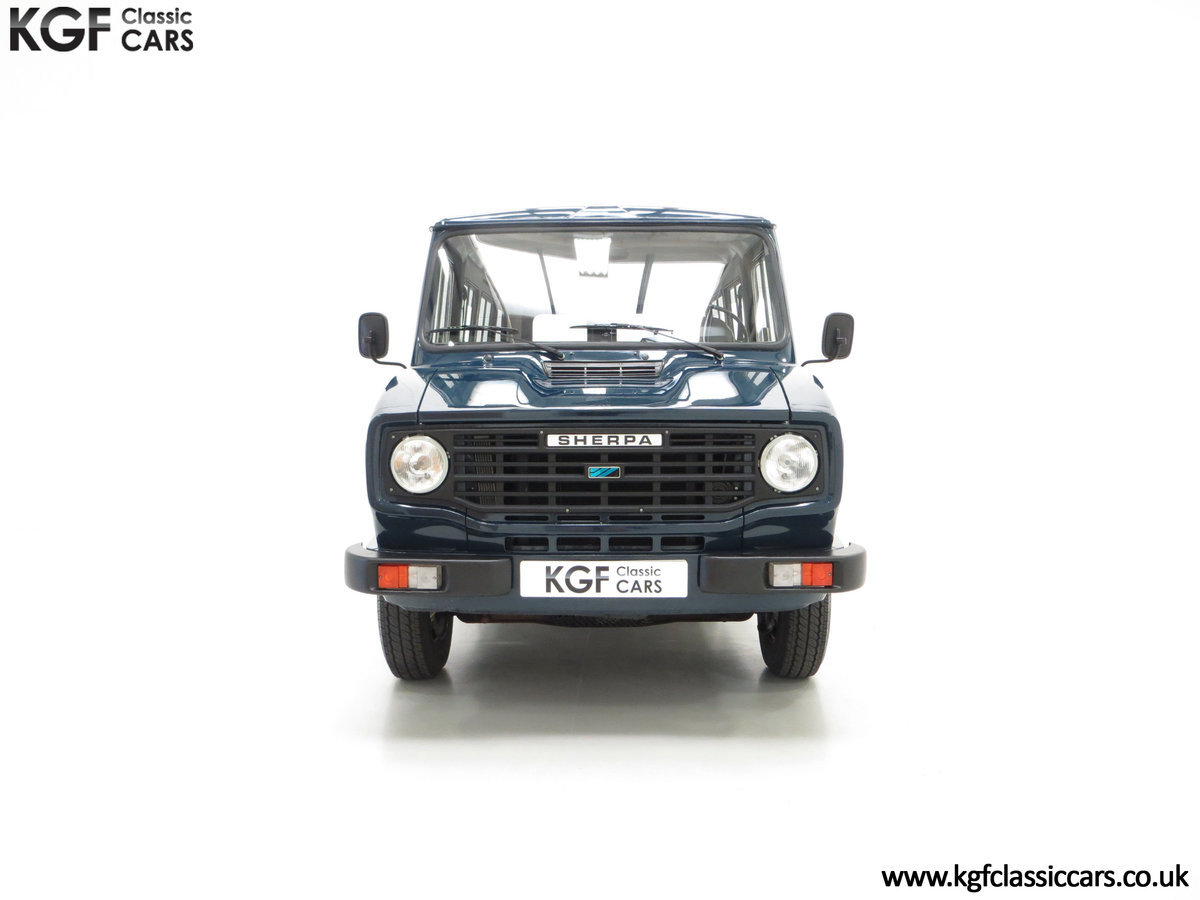 1982 A Delivery Mileage Morris Leyland Sherpa 250 Minibus SOLD (picture 3 of 24)