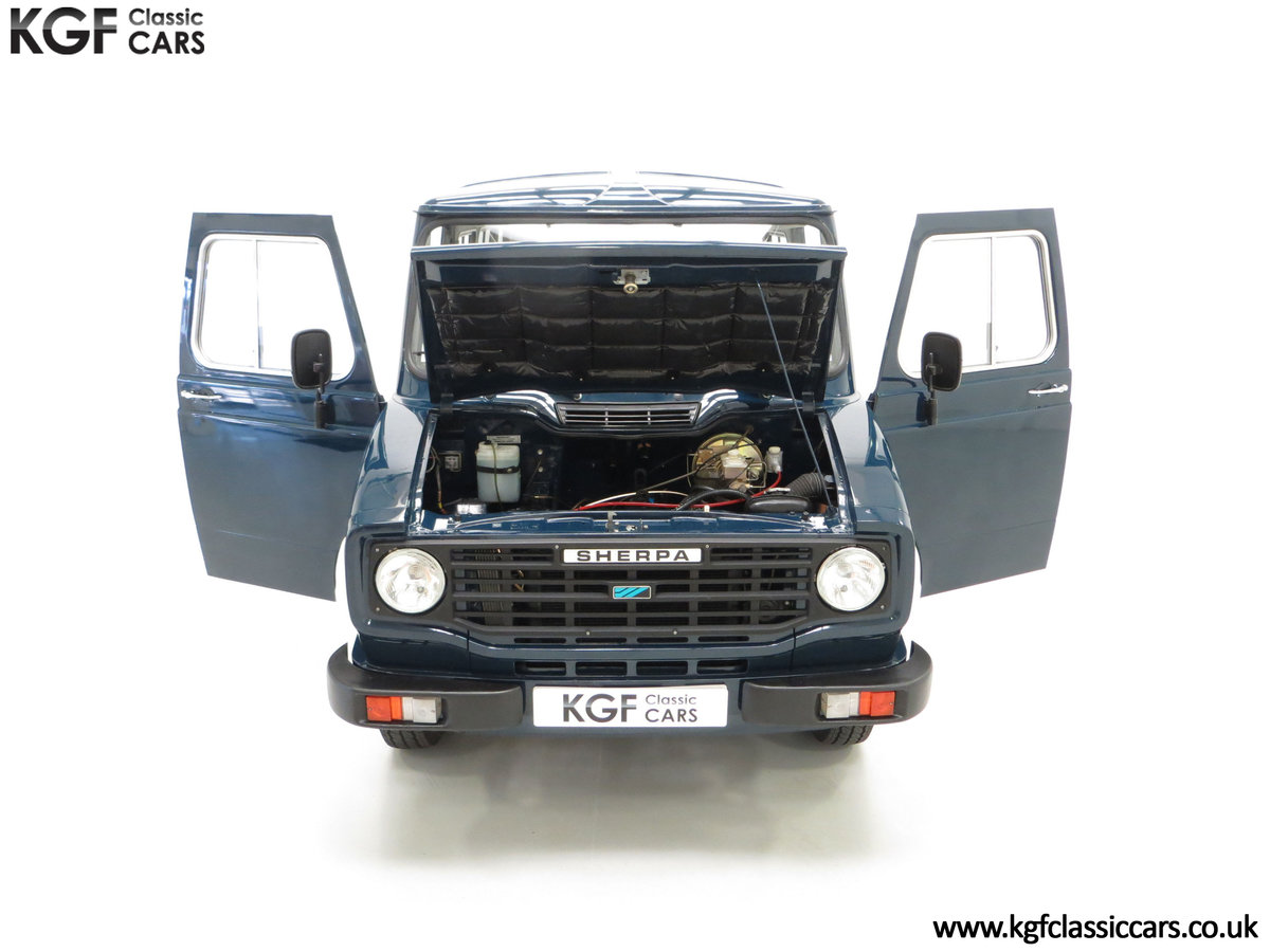 1982 A Delivery Mileage Morris Leyland Sherpa 250 Minibus SOLD (picture 4 of 24)