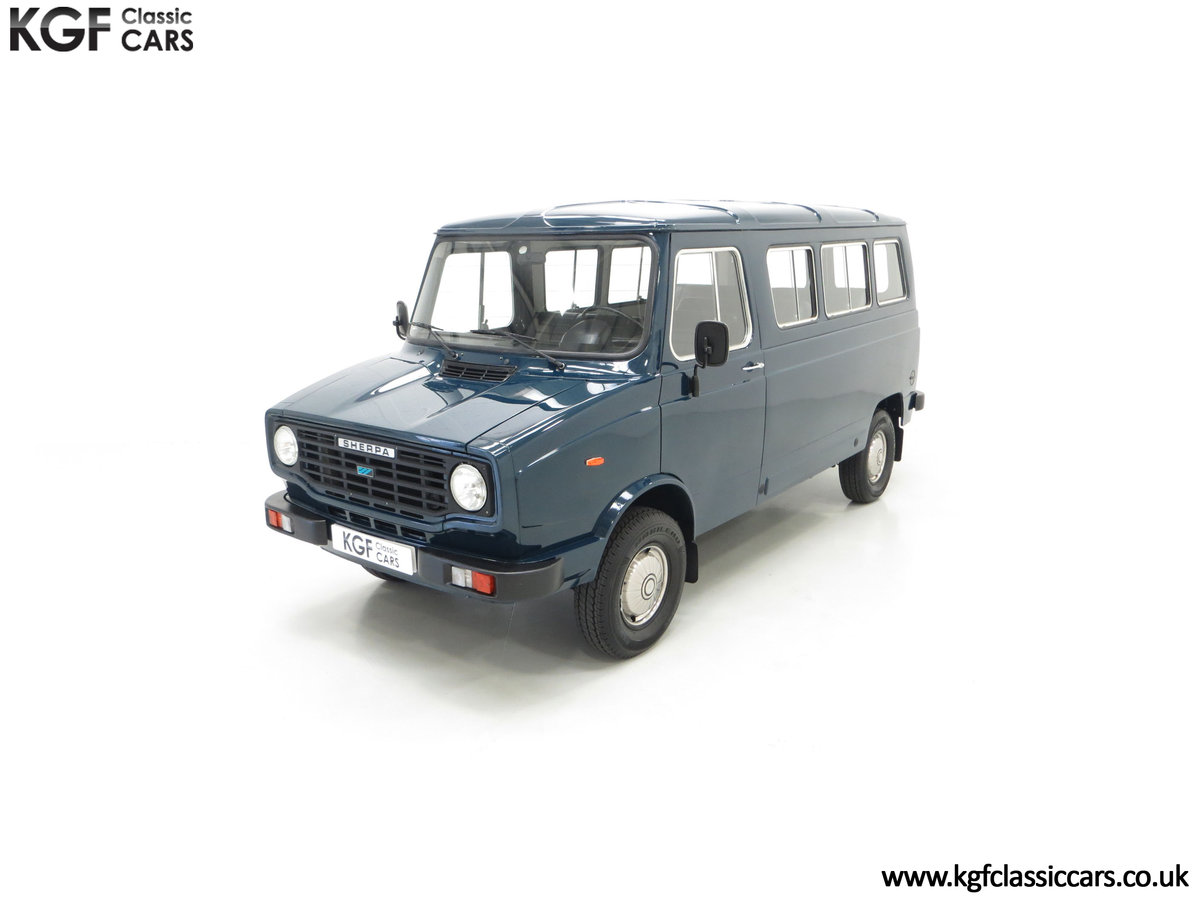 1982 A Delivery Mileage Morris Leyland Sherpa 250 Minibus SOLD (picture 5 of 24)