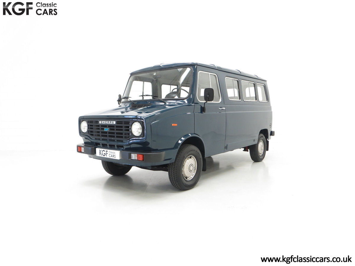 1982 A Delivery Mileage Morris Leyland Sherpa 250 Minibus SOLD (picture 6 of 24)