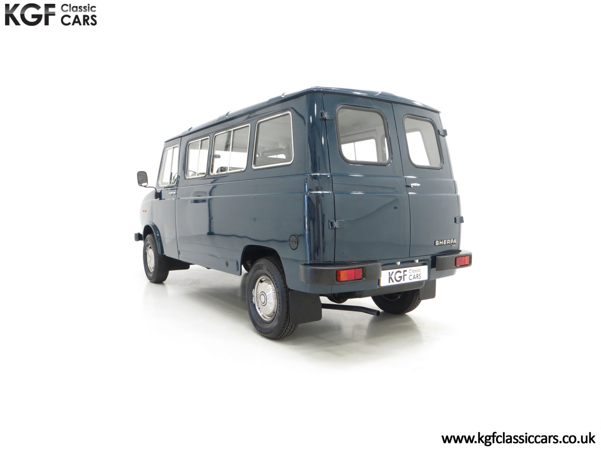 1982 A Delivery Mileage Morris Leyland Sherpa 250 Minibus SOLD (picture 8 of 24)