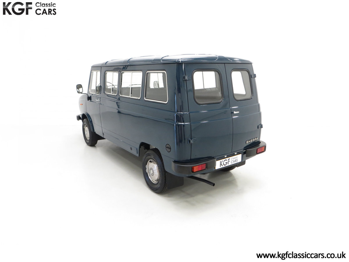 1982 A Delivery Mileage Morris Leyland Sherpa 250 Minibus SOLD (picture 9 of 24)