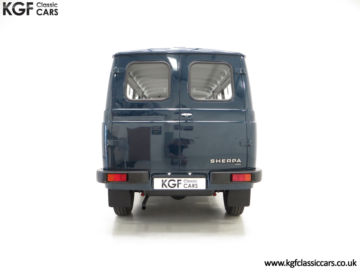 1982 A Delivery Mileage Morris Leyland Sherpa 250 Minibus SOLD (picture 10 of 24)