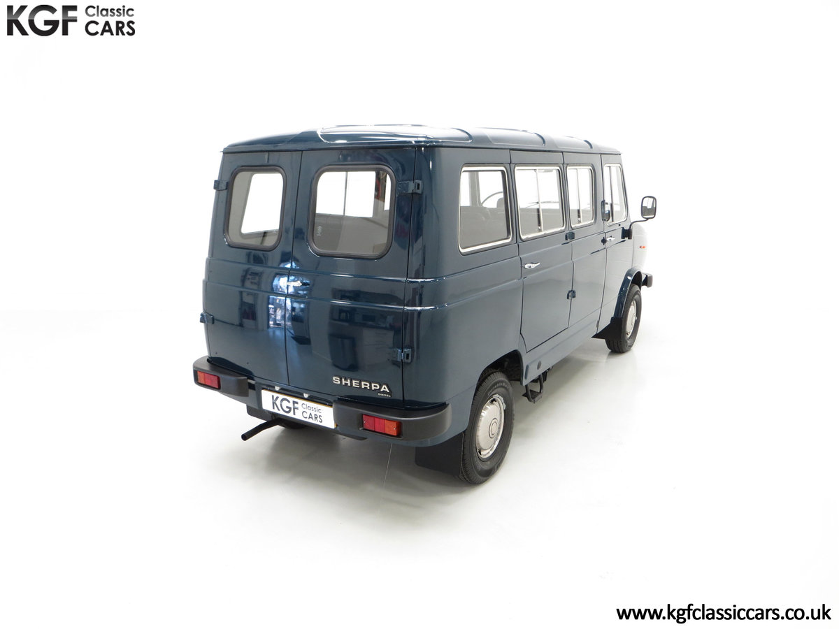 1982 A Delivery Mileage Morris Leyland Sherpa 250 Minibus SOLD (picture 12 of 24)