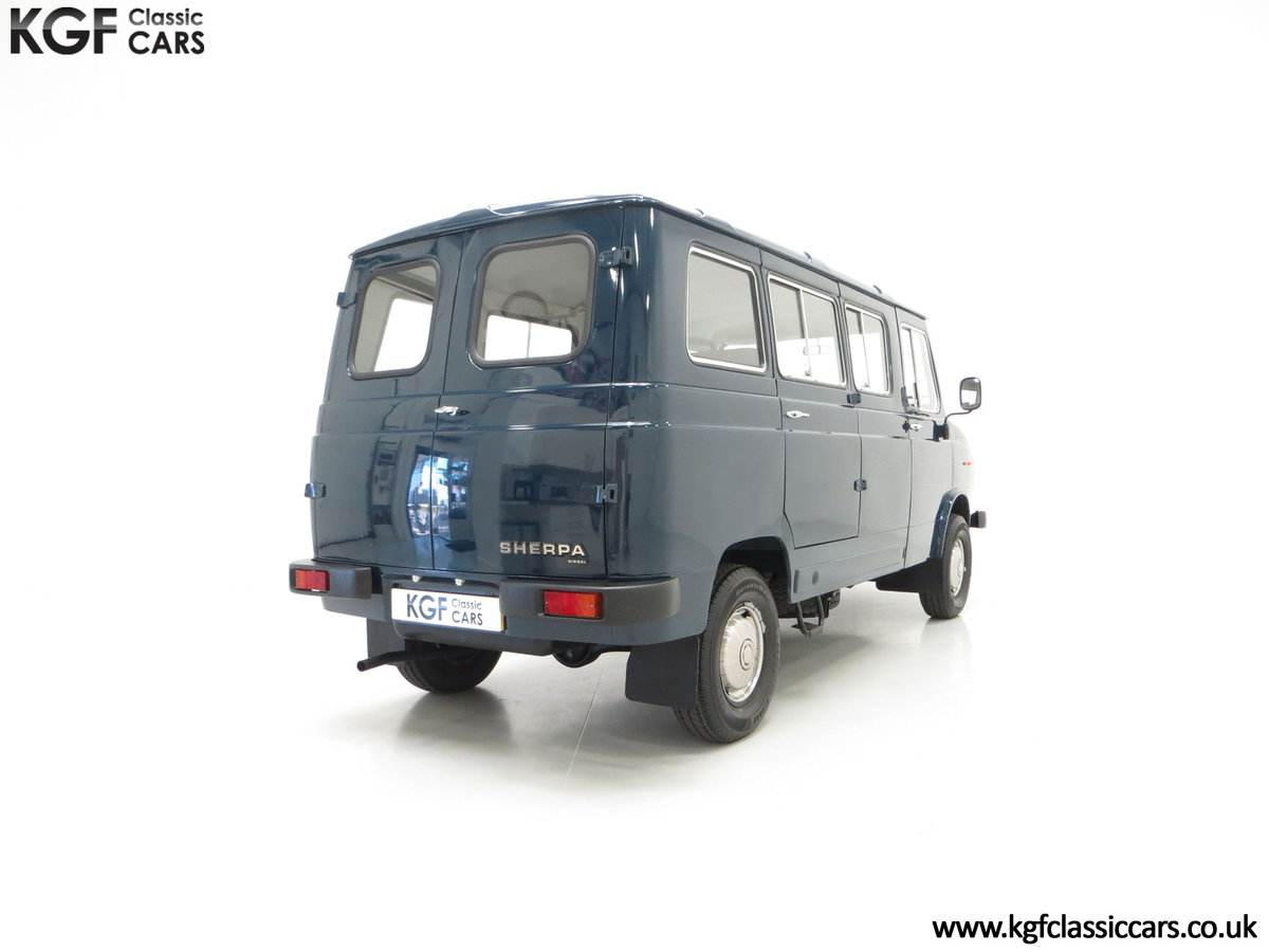 1982 A Delivery Mileage Morris Leyland Sherpa 250 Minibus SOLD (picture 13 of 24)