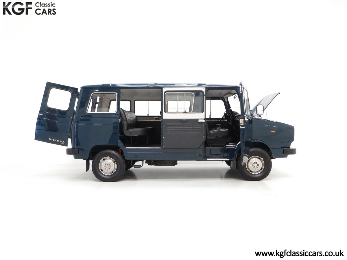 1982 A Delivery Mileage Morris Leyland Sherpa 250 Minibus SOLD (picture 14 of 24)