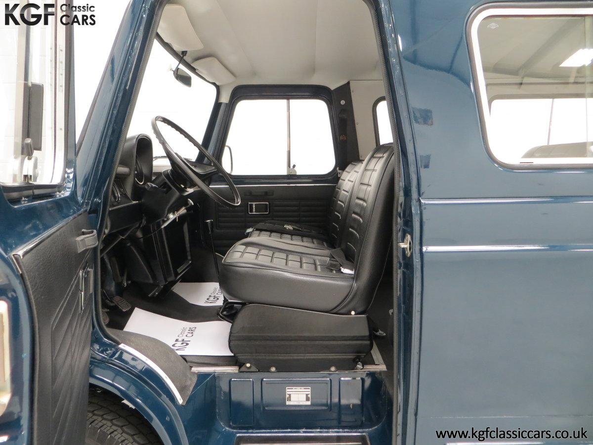 1982 A Delivery Mileage Morris Leyland Sherpa 250 Minibus SOLD (picture 16 of 24)