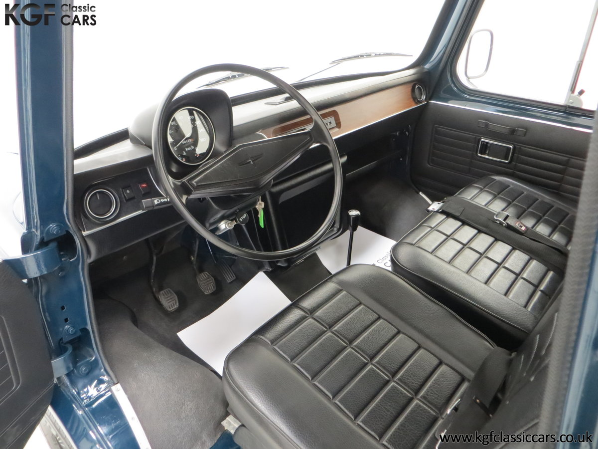 1982 A Delivery Mileage Morris Leyland Sherpa 250 Minibus For Sale (picture 17 of 24)