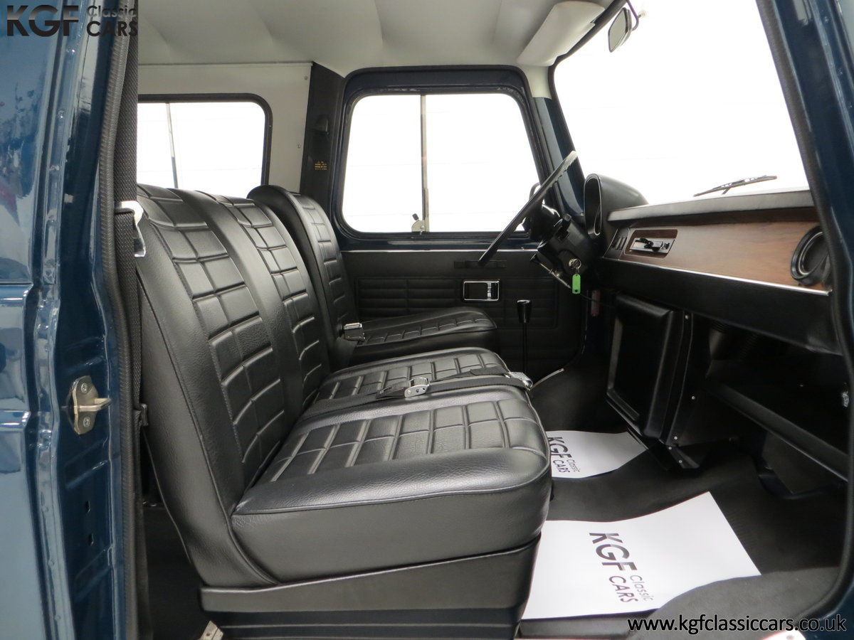 1982 A Delivery Mileage Morris Leyland Sherpa 250 Minibus For Sale (picture 18 of 24)