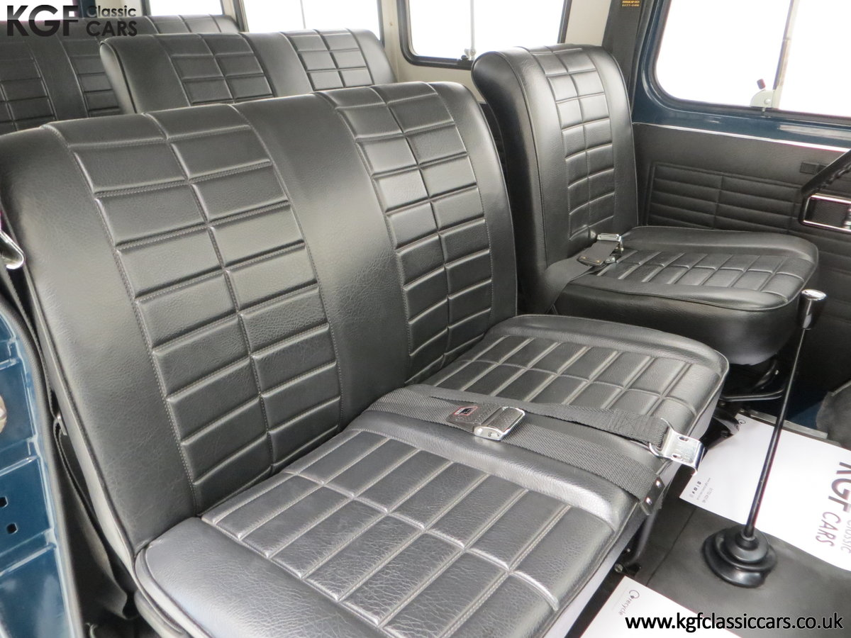 1982 A Delivery Mileage Morris Leyland Sherpa 250 Minibus For Sale (picture 19 of 24)