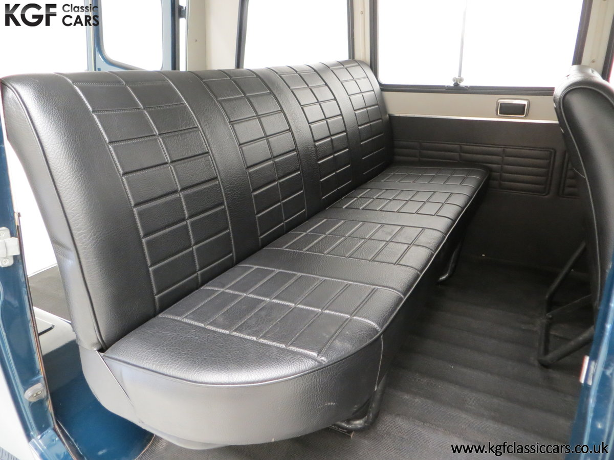 1982 A Delivery Mileage Morris Leyland Sherpa 250 Minibus For Sale (picture 20 of 24)