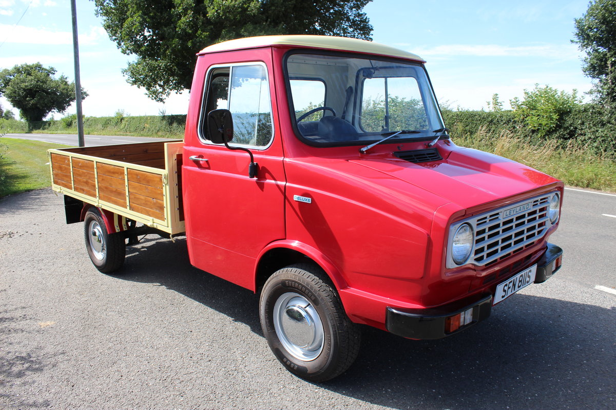 1978 Leyland AM Sherpa Drop Side Pick Up Truck Petrol For Sale (picture 1 of 6)