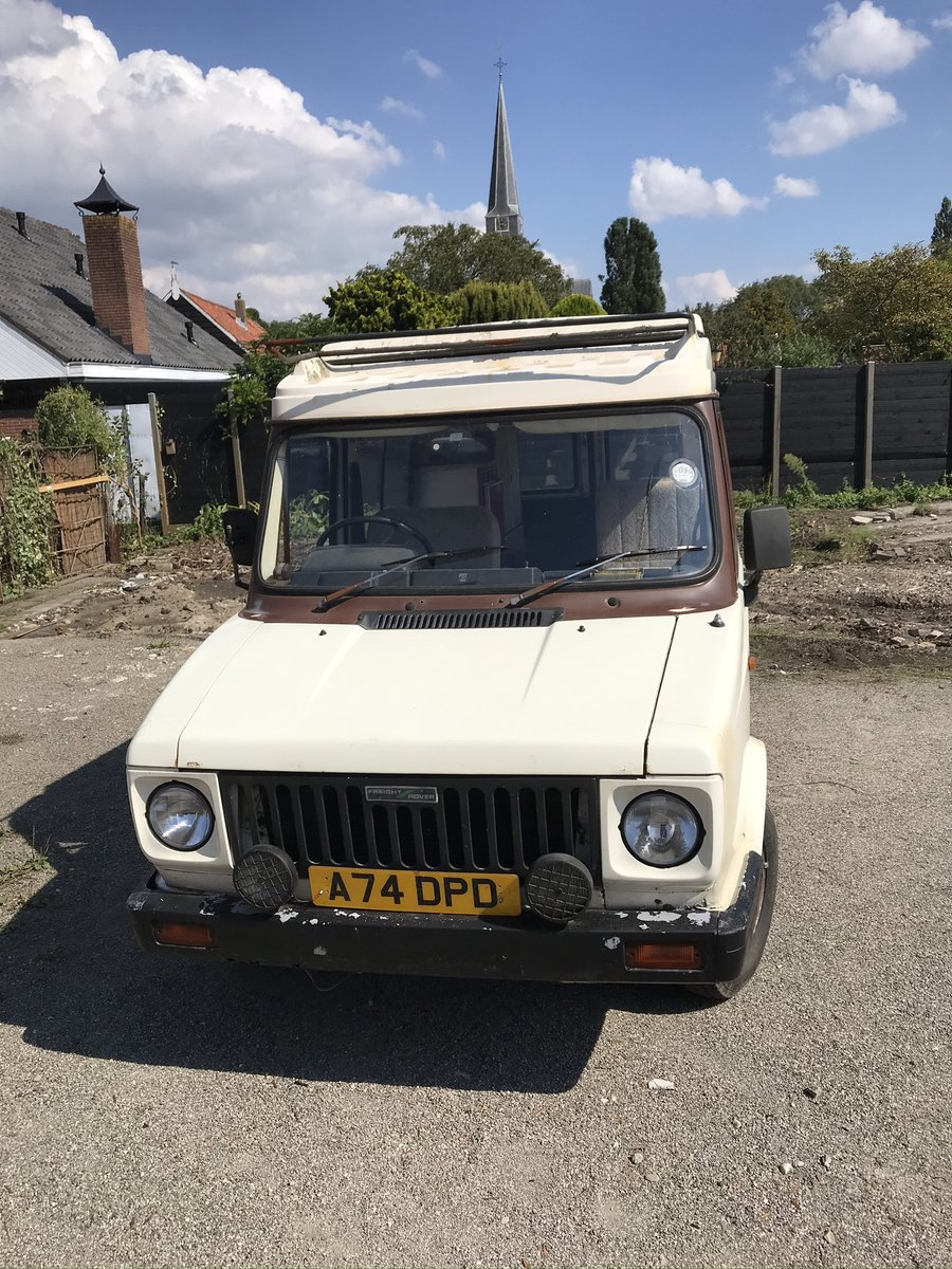 1983 Autosleeper SHERPA For Sale (picture 2 of 6)