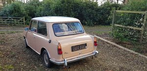 Picture of 1972 Extremely rare mini 1000 with boot