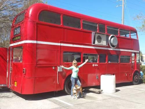 1967 London Double Decker Bus Rv Fun Food Business 98k