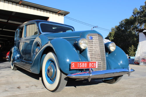 Lincoln - K V12 Seven Passenger Sedan - 1936 For Sale (picture 3 of 6)