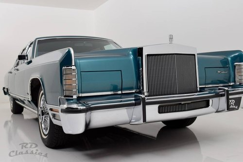 1979 Lincoln Continental Towncar / Hervorragender Zustand! SOLD (picture 1 of 6)