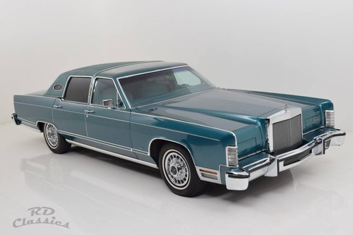 1979 Lincoln Continental Towncar / Hervorragender Zustand! SOLD (picture 2 of 6)