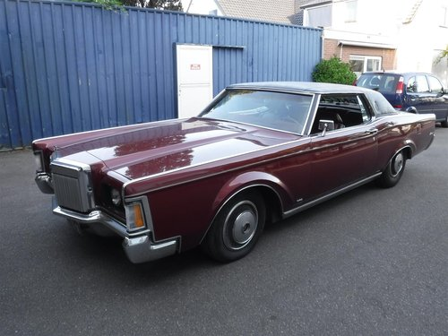 nice 1971 Lincoln Continental MK3, ready to use For Sale (picture 1 of 6)