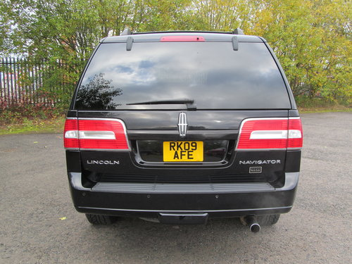 2009 Lincoln Navigator 4WD 5.4L V8 Auto SOLD (picture 6 of 6)
