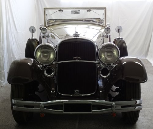 1931 Lincoln Model K Convertible Coupe by LeBaron For Sale (picture 1 of 6)