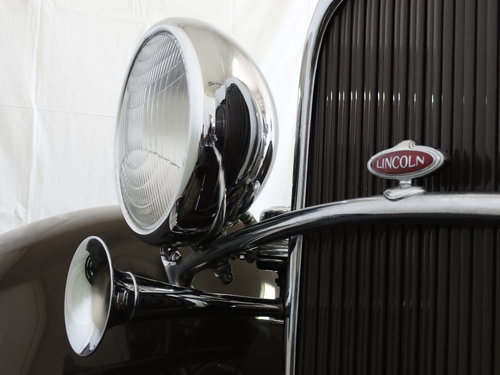 1931 Lincoln Model K Convertible Coupe by LeBaron For Sale (picture 6 of 6)