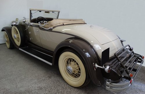 1931 Lincoln Model K Convertible Coupe by LeBaron For Sale (picture 3 of 6)