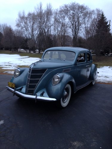 1937 Lincokn Zephyr For Sale (picture 2 of 6)