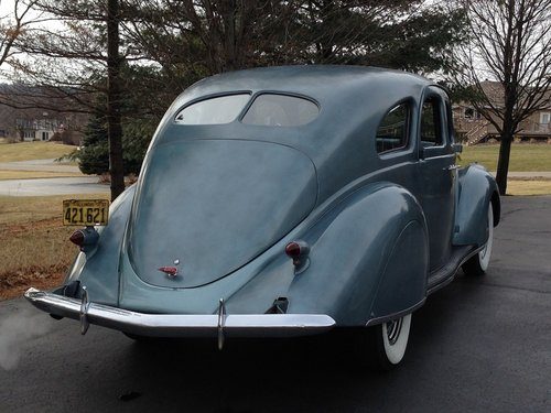 1937 Lincoln Zephyr For Sale (picture 4 of 6)