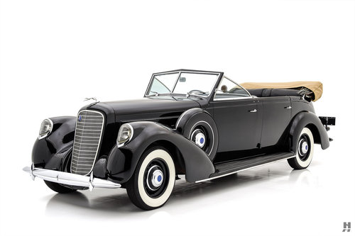 1937 LINCOLN K SEVEN-PASSENGER TOURING For Sale (picture 1 of 6)
