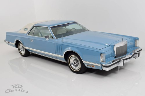 1979 Lincoln Continental Mark V 2D Coupe For Sale (picture 2 of 6)