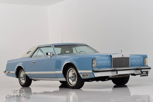 1979 Lincoln Continental Mark V 2D Coupe For Sale (picture 3 of 6)