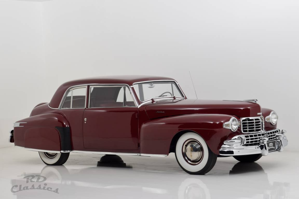 1947 Lincoln Continental Flathead V12 Coupe For Sale (picture 2 of 6)