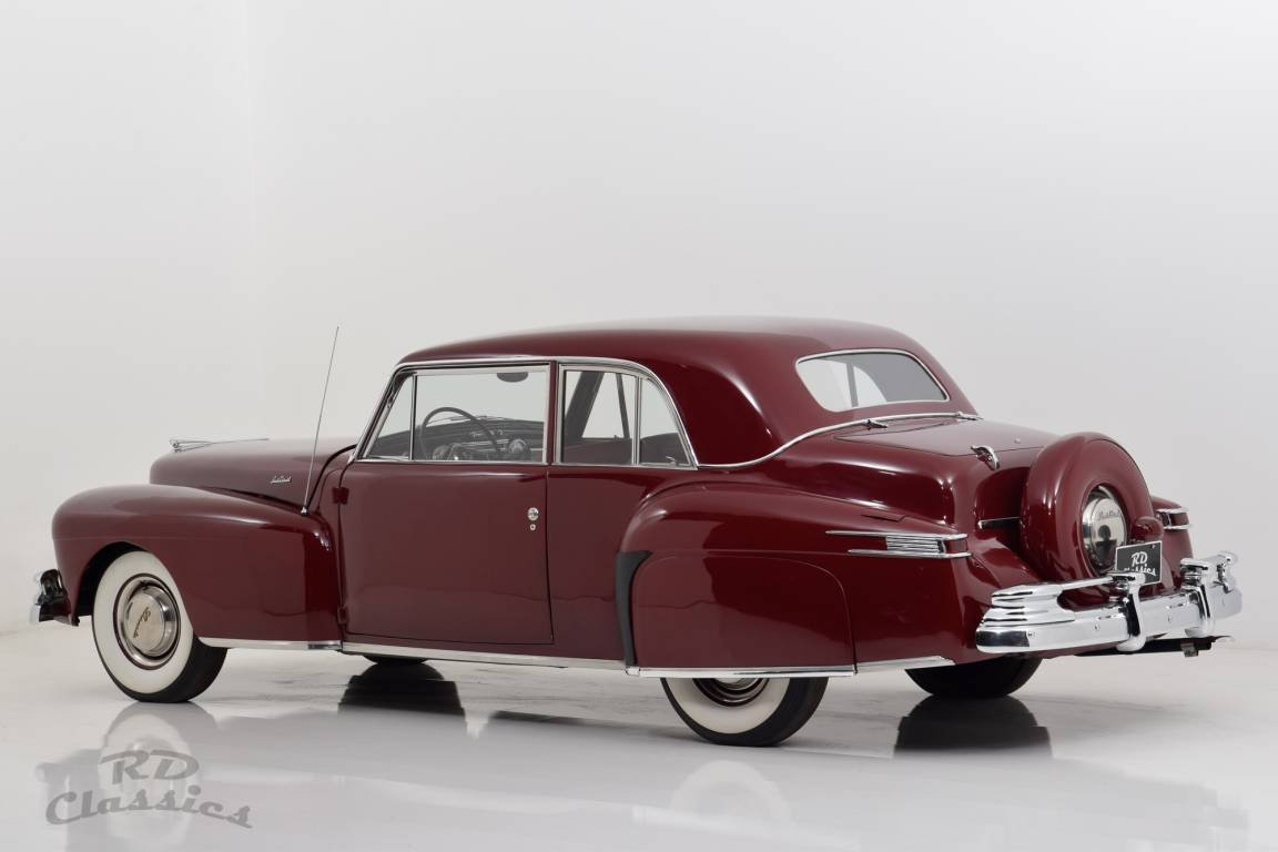 1947 Lincoln Continental Flathead V12 Coupe For Sale (picture 3 of 6)