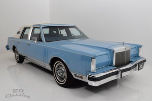 1982 Lincoln Continental Town Car Sun Roof