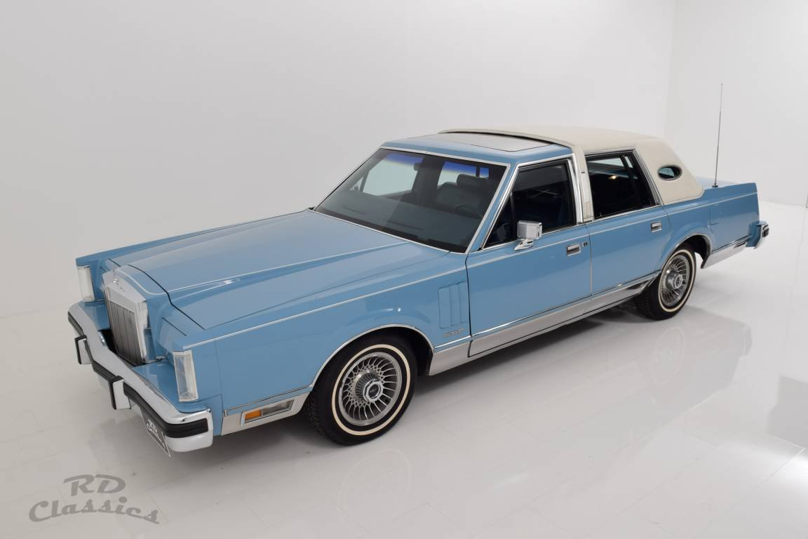 1982 Lincoln Continental Town Car Sun Roof For Sale (picture 3 of 6)