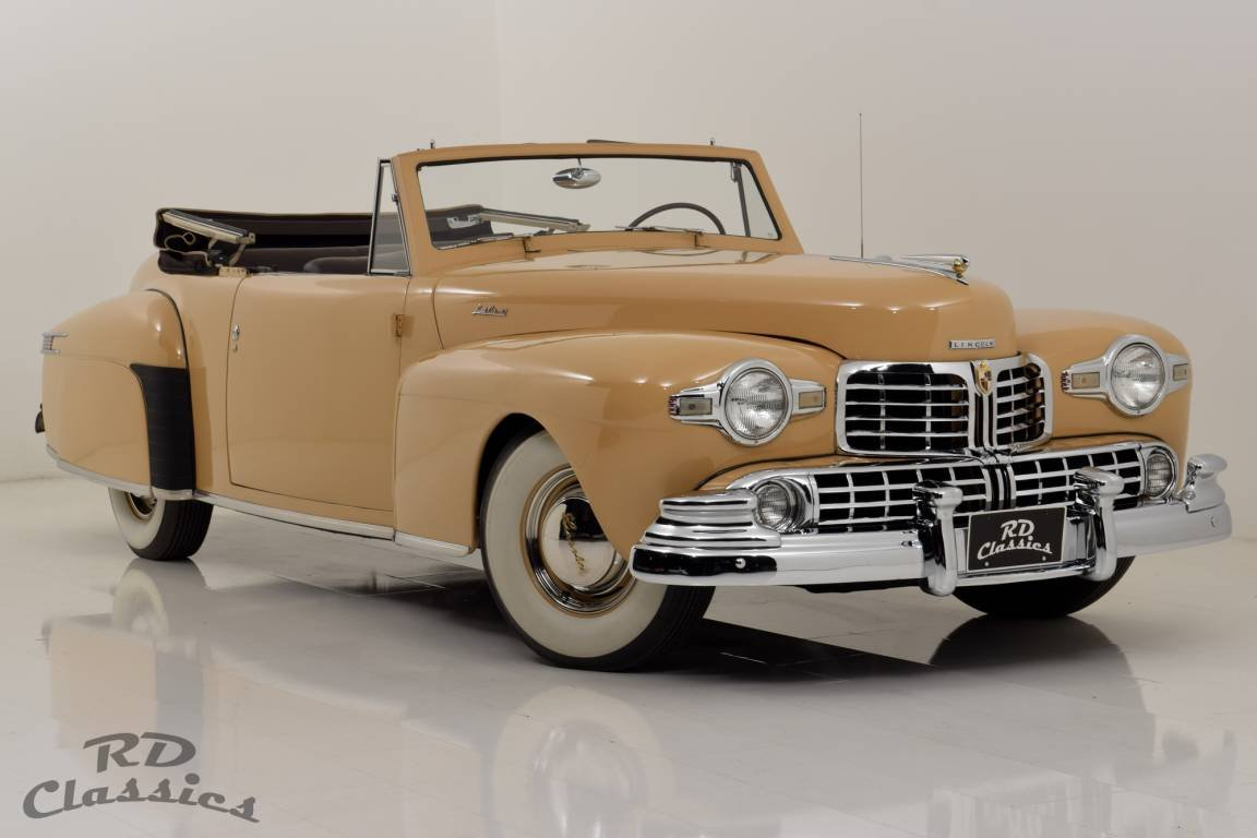 1948 Lincoln Continental Convertible V12 / Frame-Off Restau For Sale (picture 1 of 6)