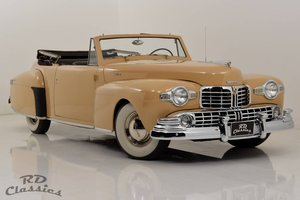 1948 Lincoln Continental Convertible V12 / Frame-Off Restau For Sale