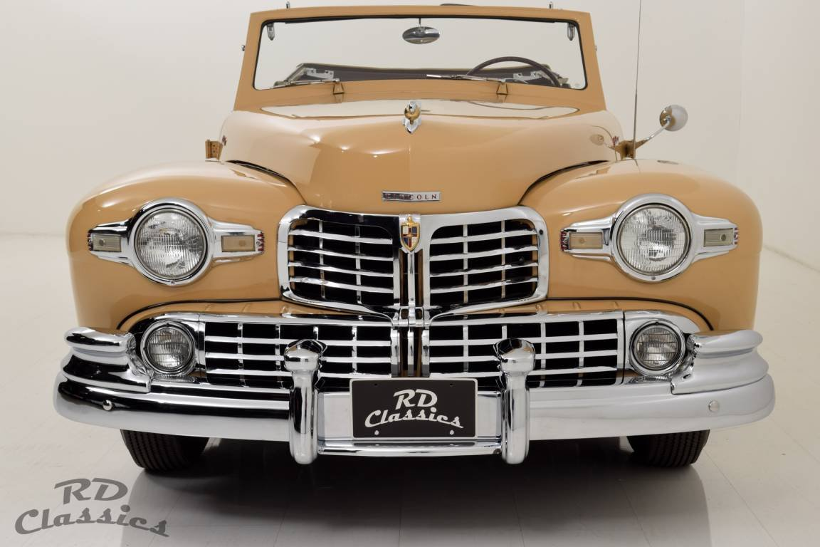 1948 Lincoln Continental Convertible V12 / Frame-Off Restau For Sale (picture 2 of 6)