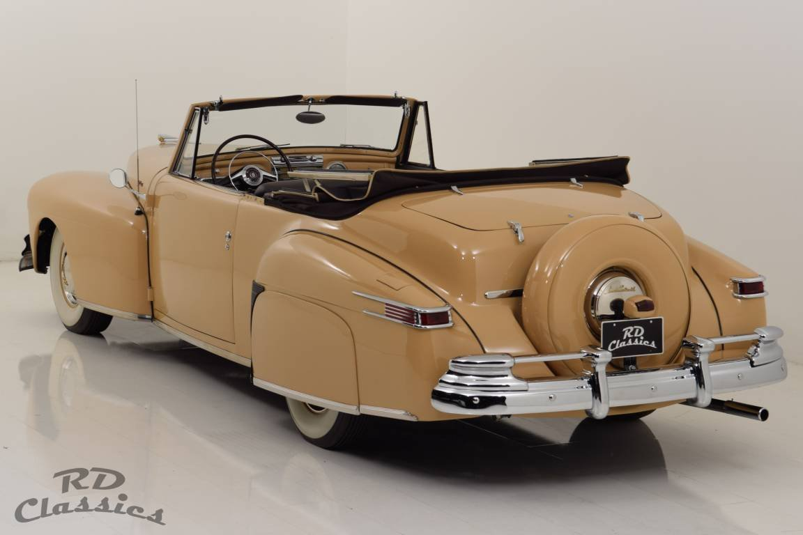 1948 Lincoln Continental Convertible V12 / Frame-Off Restau For Sale (picture 3 of 6)