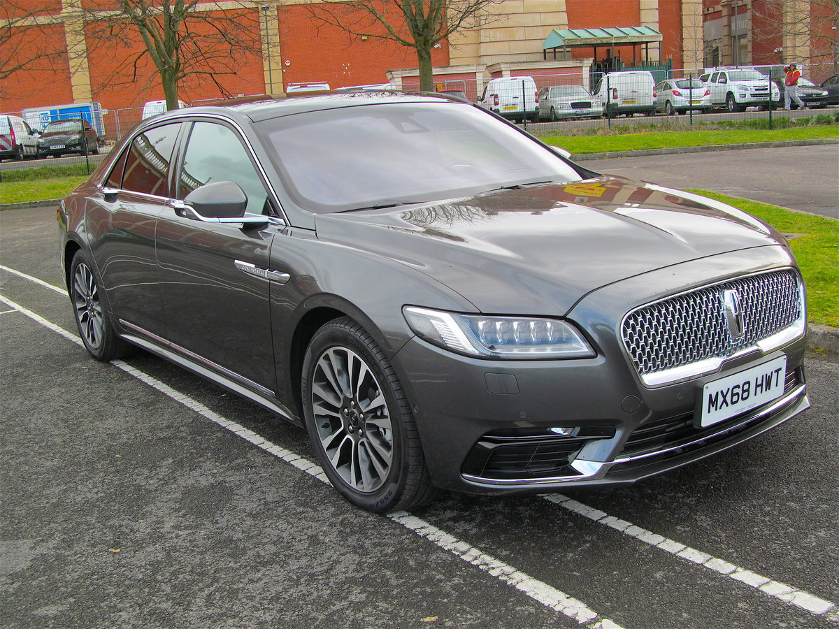 2018 Lincoln Continental 3.0L AWD Reserve V6 For Sale (picture 1 of 6)