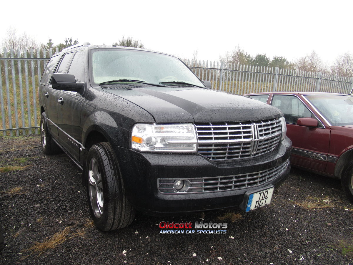 2007 LINCOLN NAVIGATOR 5.4 LITRE AUTO 4X4 WITH LPG SOLD (picture 1 of 6)