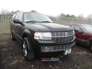 2007 LINCOLN NAVIGATOR 5.4 LITRE AUTO 4X4 WITH LPG SOLD